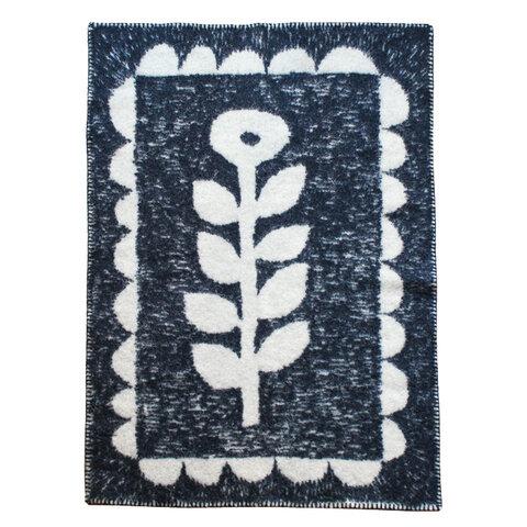 KLIPPAN × minä perhonen エコラムウールブランケット[WIND & FLOWER]
