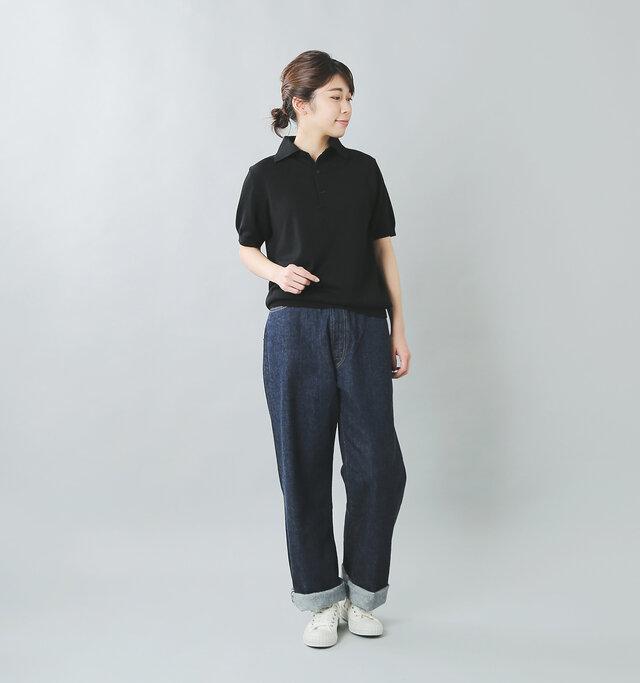 model:165cm / 48kg color : black / size : 1