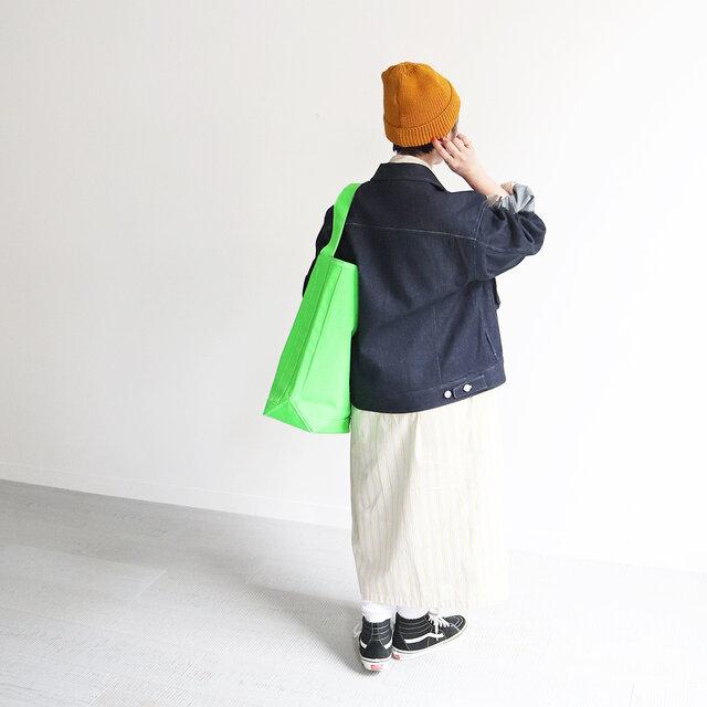 インディゴ 着用、モデル身長:150cm