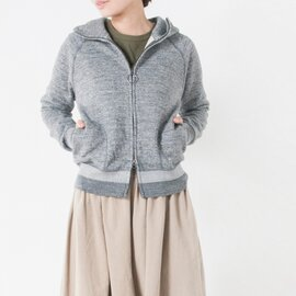 "nanamica フレンチテリージップパーカー""Sweat Parka"" suhs638-sg"