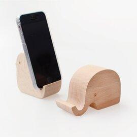 KIKKERLAND Beechwood Phone Stand