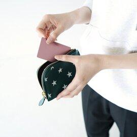 IL BISONTE|日本限定シリーズ スター プリント L字ジップ コンケース 財布 ウォレット バッグ 54202-3-14440 イルビゾンテ