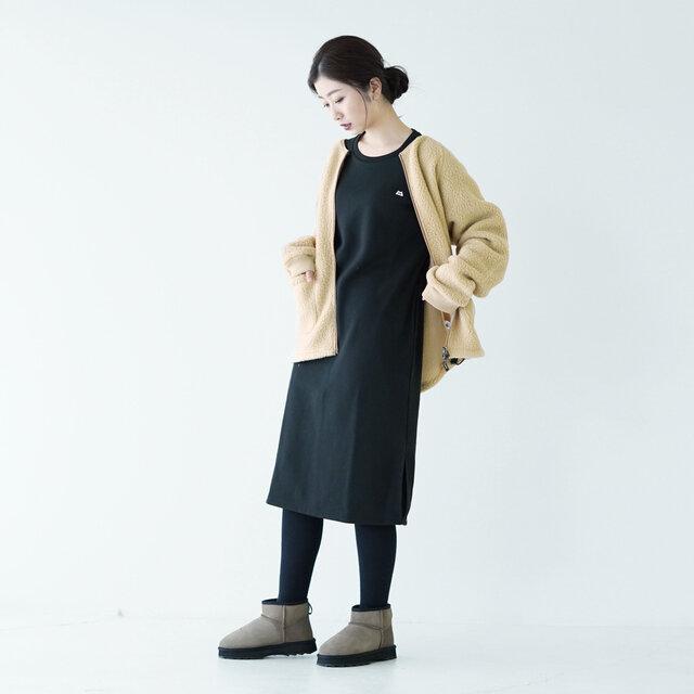モデル:166cm / 47kg color : black / size : WS(レディースS~M)