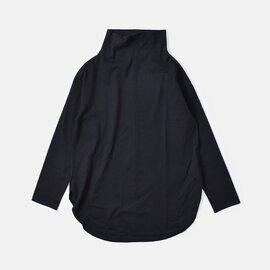 Commencement|コットンハイネックチュニックロングスリーブTシャツ c-132-mt