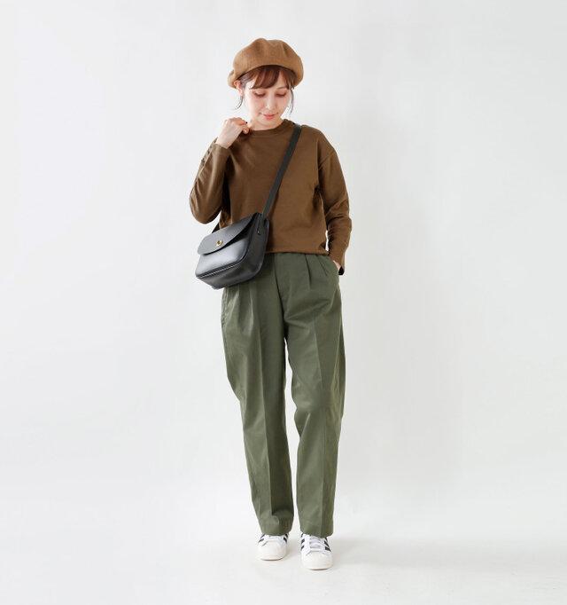 model yama:167cm / 49kg color : brown / size : 0