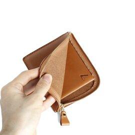 土屋鞄製造所|ナチューラ ヌメ革Lファスナー