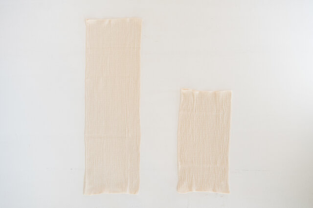 左がロングサイズ(旧商品)、右がショートサイズ(新商品)
