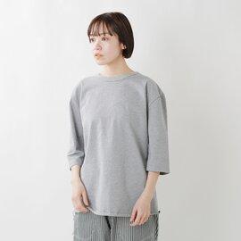 have a good day|コットン3/4スリーブルーズTシャツ hgd-068-ma