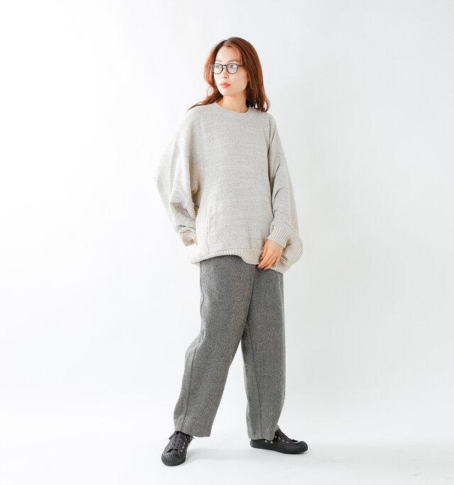 model mizuki:168cm / 50kg  color : dark gray / size : 5