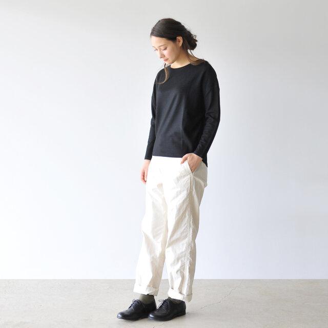 モデル:164cm / 49kg color : black(col.990) / size : 1-2(S-M)