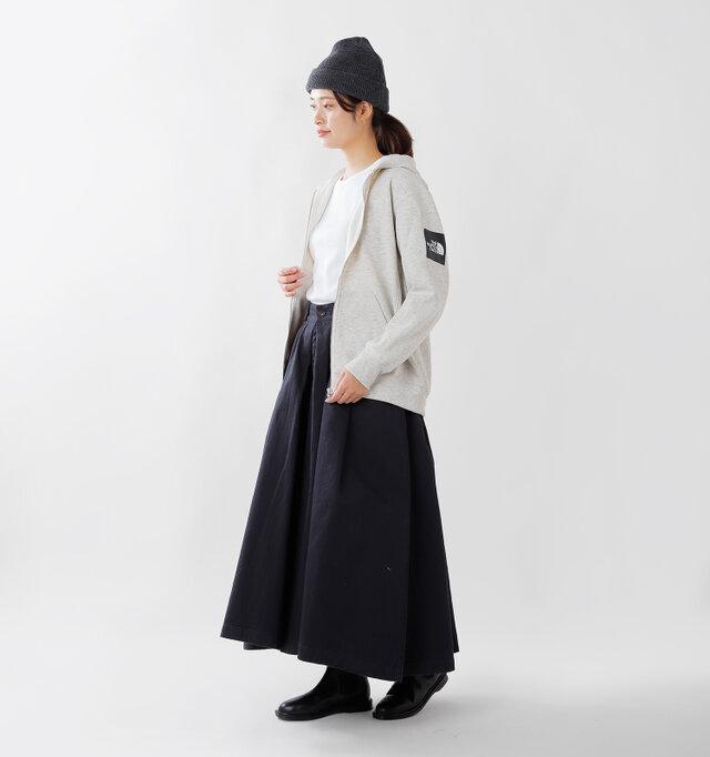 model kanae:167cm / 48kg color : oatmeal / size : M