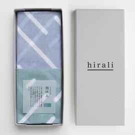 hirali|ガーゼストール かさねの色目 ~雨休み~ 【母の日ギフト】