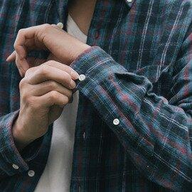 classico | h.b b.dシャツ フランネルチェック