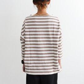 maillot|border drop shoulder T-shirts ドロップショルダー・ボーダーTee MAC-15145