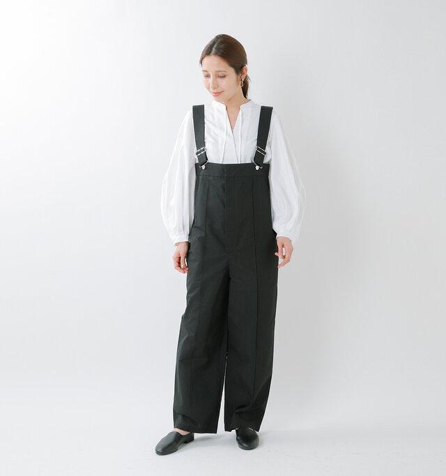 model yama:167cm / 49kg  color : black / size : 36