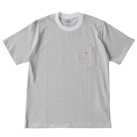 【2019SS】DANTON|クルーネックポケットロゴTシャツ・jd-9041 ダントン