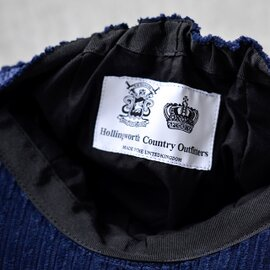 Hollingworth Country Outfitters|コーデュロイキャスケット pe1008-mm