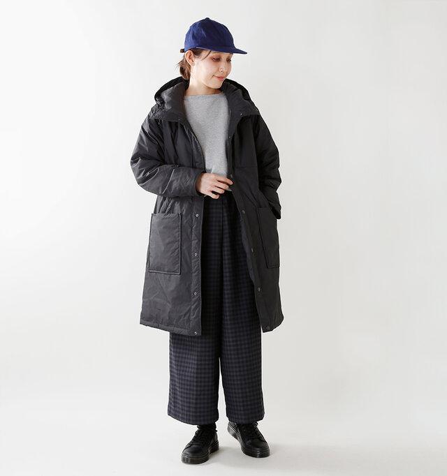 model yama:167cm / 49kg color : black / size : womans S