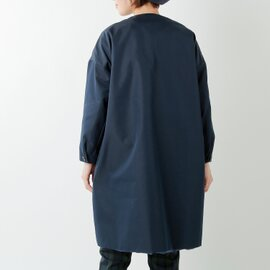 ironari|aranciato別注ノーカラーロングサクラコート i-19114arc-rf