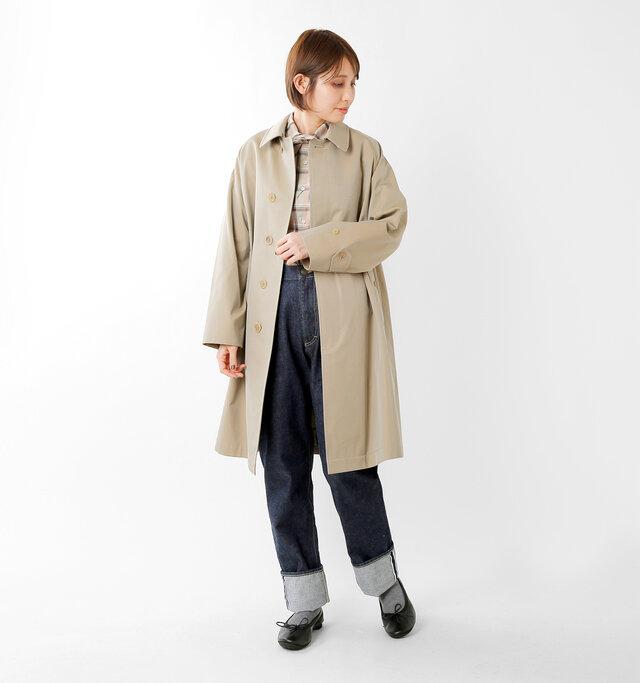 model yama:167cm / 49kg color : black / size : 39(24.5cm)