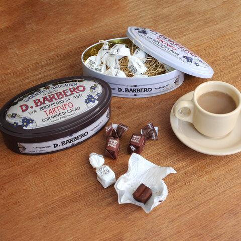 BARBERO|トリュフチョコ缶