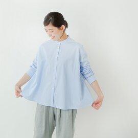 DIARIES|コットンブロードストライプAラインシャツ sa112007-rf