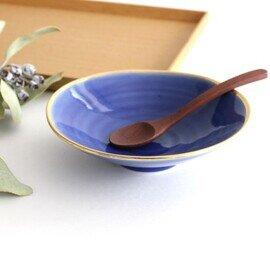 波佐見焼|平鉢 青釉金