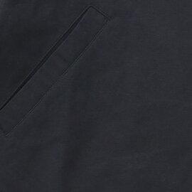 TUTIE.|高密度コットンリネンツイルノーカラージャケット