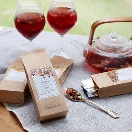 TEAtriCO|TeaEAT 食べられるお茶(フルーツティー)
