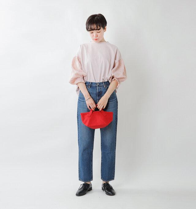 model saku:163cm / 43kg  color : red/ size : one
