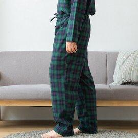 TUTIE.|コットンビエラ起毛タータンチェックユニセックスパジャマ