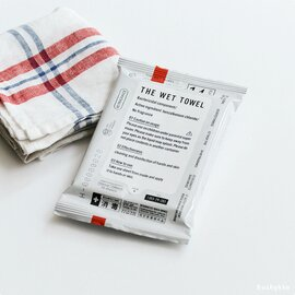 THE|「消毒ができる」THE WET TOWEL