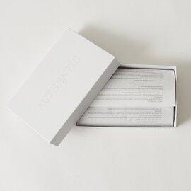 AUTHENTIC|オーセンティック ブライドルレザー 2つ折りスナップボタンロングウォレット・W002
