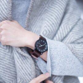 TID Watches|TID No.1 Leather Wristband(革ベルトブラックバックル)