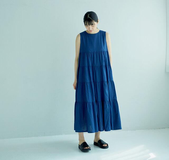 着用サイズ 0(モデル 165cm)/ BLUE