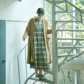 GRANDMA MAMA DAUGHTER オープンカラーコート