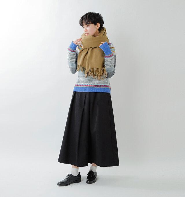 model saku:163cm / 43kg  color : camel / size : one