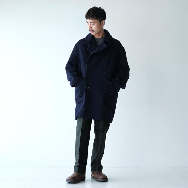 モデル:173cm / 58kg color : mocha / size : 41(26.5cm)