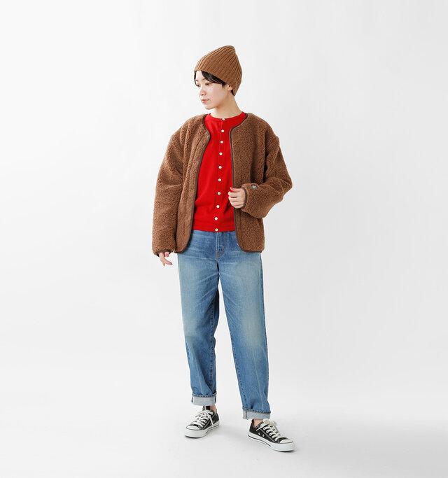 model saku:163cm / 43kg color : red / size : 1