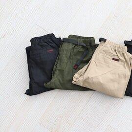 GRAMICCI|BACK SATIN LOOSE TAPERED PANTS