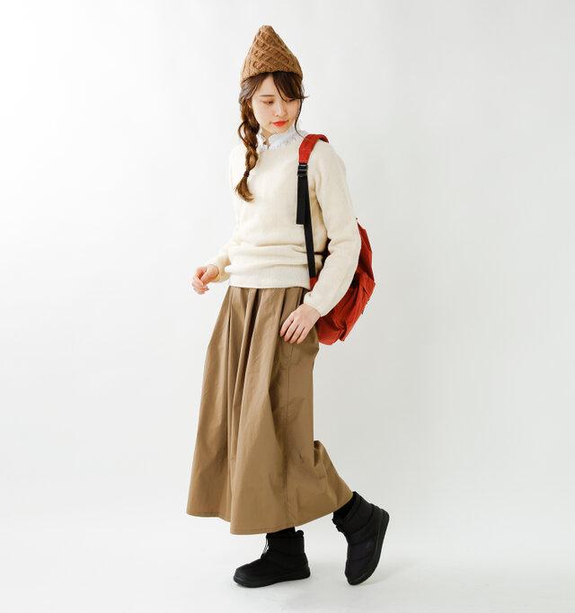 model kanae:167cm / 48kg  color : TNF black / size : 7(24.0cm)
