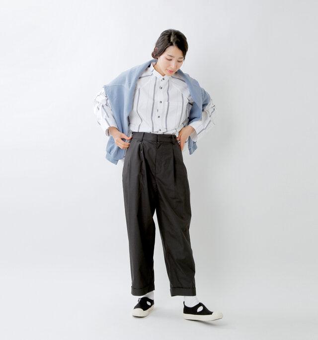 model mizuki:168cm / 50kg  color : black / size : 5(24.0cm)