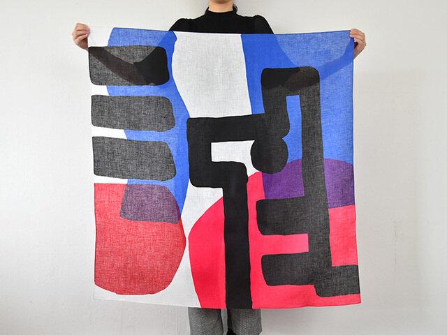 鈴木マサル 【メール便対応】風呂敷 MUSUBI LINEN 100×100cm