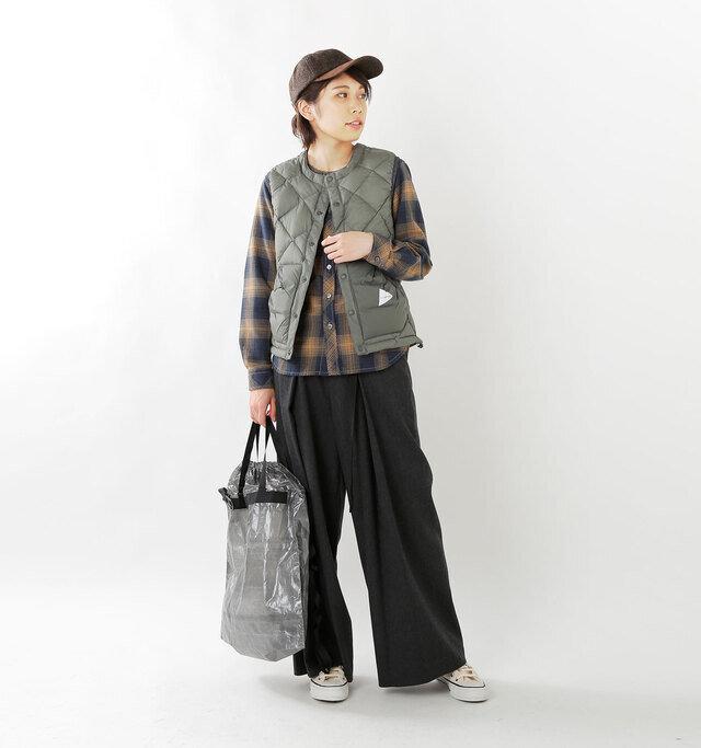 model hikari:165cm / 48kg color : gray / size : 00