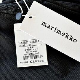 marimekko|BUDDY ROADIE / METRO ROADIE リュックサック