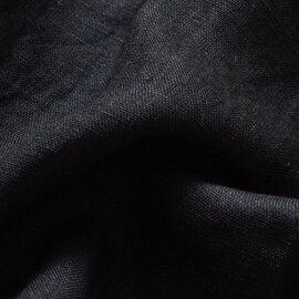 audrey and john wad|コットン×リネンキャンバスギャザーノースリーブプルオーバーブラウス h0108-mm