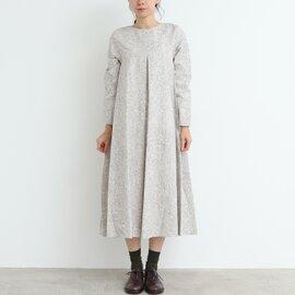 yuni|liana プリントフロントタックワンピース 1701OP050182