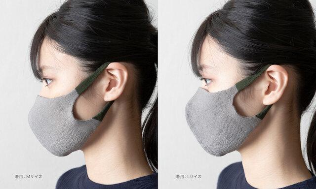 TRICOTE サイドカラーマスク