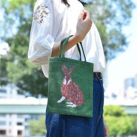 松尾ミユキ|動物 ミニトート/トートバック