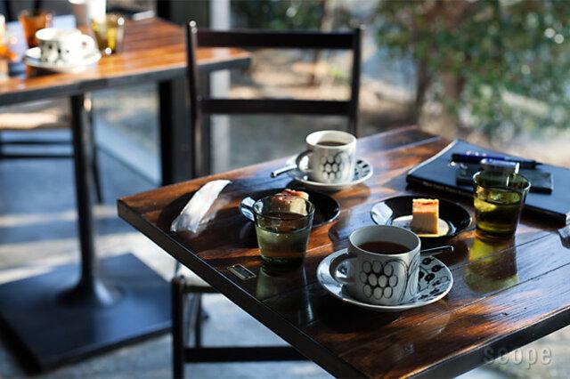 コーヒーカップ&ソーサー ブラック